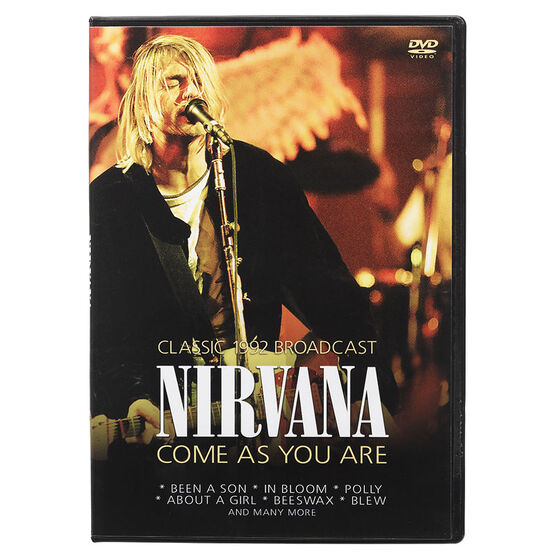 Nirvana - Come As You Are: Live in Argentina 1992 - DVD