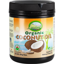 Everland Organic Coconut Oil - 454g