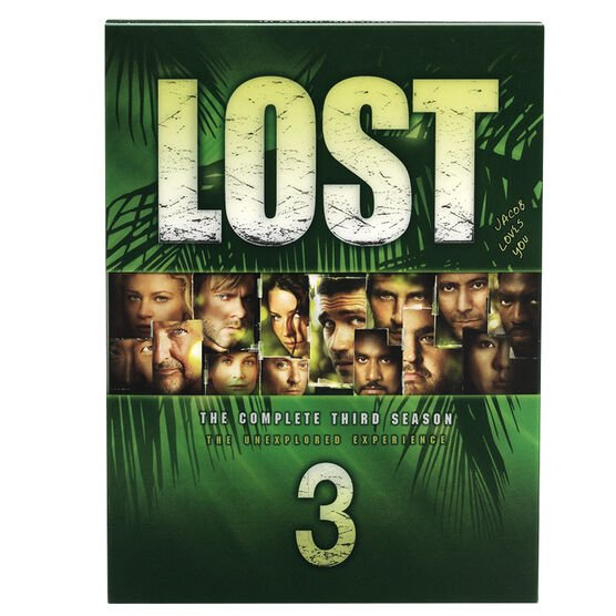 Lost - The Complete Third Season: The Unexplored Experience - 7 disc set