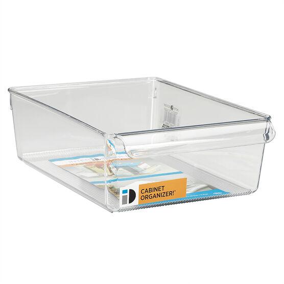 InterDesign Linus Pullz Cabinet Organizer - Extra Wide - Clear