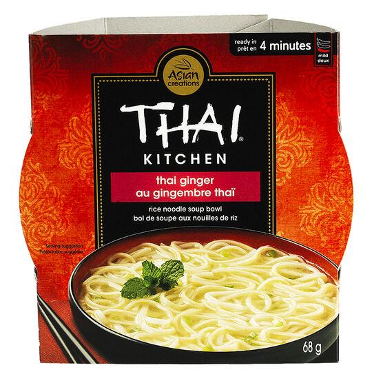 Thai Kitchen Rice Noodle Bowl - Thai Ginger - 68g