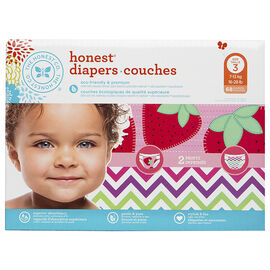 The Honest  Company Honest Diapers - Size 3 - 68's - Girls
