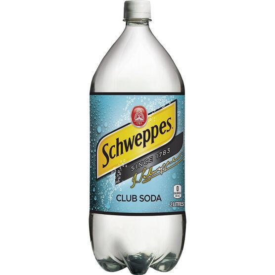 Schweppes Club Soda - 2L