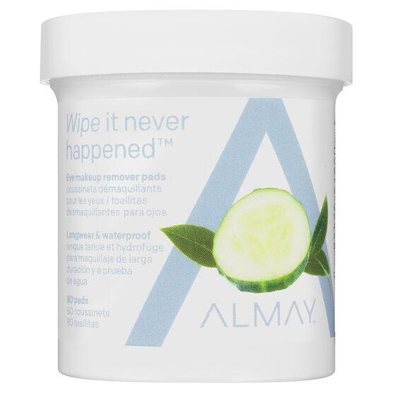 Almay Longwear & Waterproof Eye Makeup Remover Pads - 80's