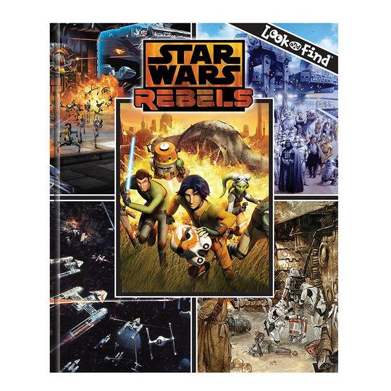 Star Wars Rebels Look & Find Book