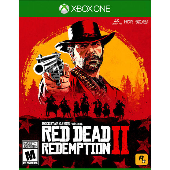 PRE ORDER: Xbox One Red Dead Redemption 2