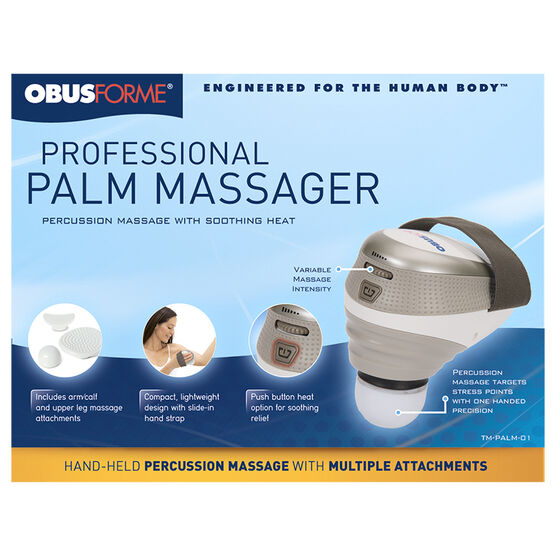 ObusForme Professional Palm Massager - TM-PALM-01B