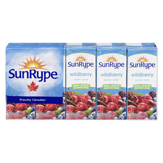 Sun-Rype Juice - Wildberry - 5x200ml
