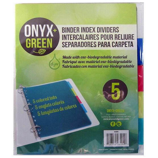 Onyx Green Dividers - 5 packs