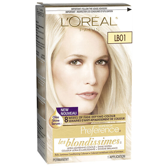 Loreal Preference Hair Color Blonde Best Hair Color Inspiration 2018