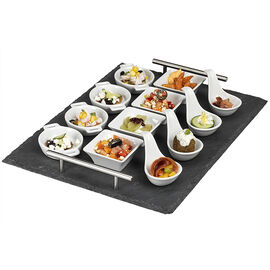 London Drugs Tapas Set with Slate Tray - 13 piece