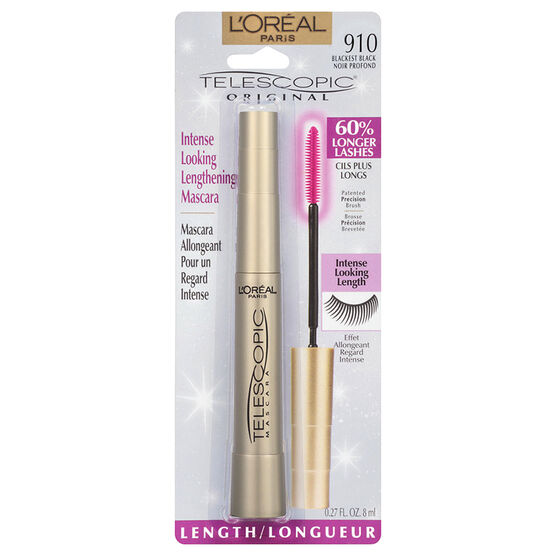 L'Oreal Telescopic Mascara - Blackest Black