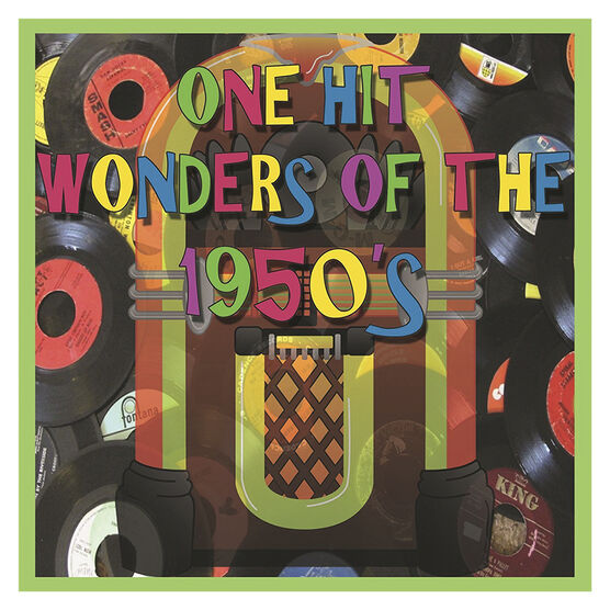 Various Artists - One Hit Wonders of the 1950s - 2 CD