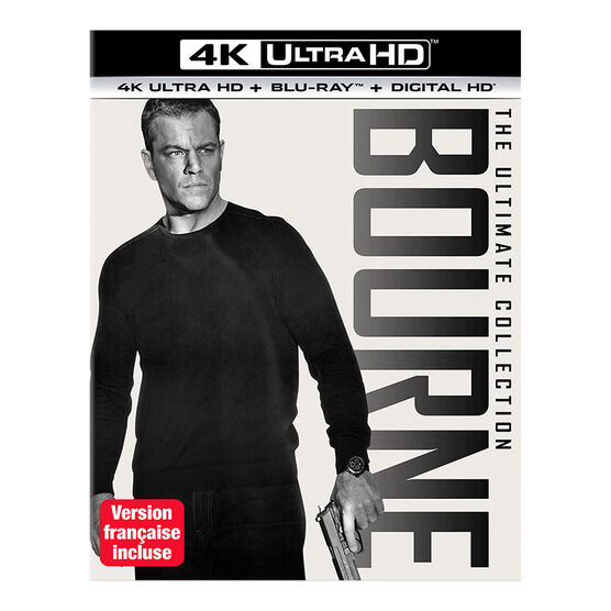 Bourne: The Ultimate Collection - 4K UHD Blu-ray