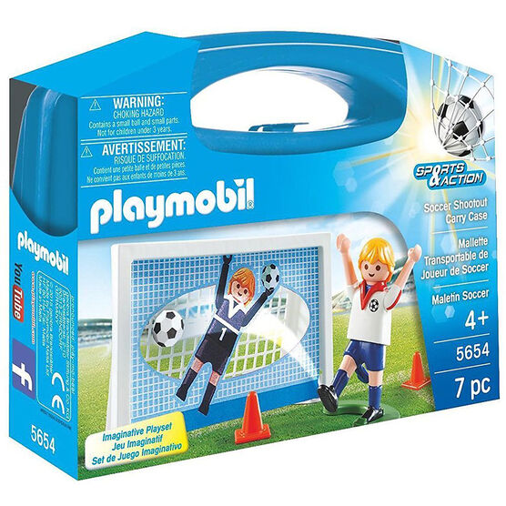 Playmobil Carrying Case - Soccer - 56542