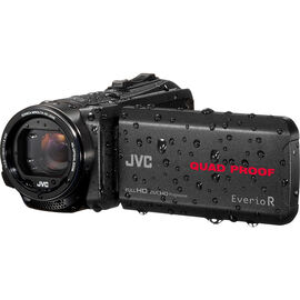 JVC GZ-R550BU Quad Proof Everio Full HD Camcorder - Black - GZ-R550BU