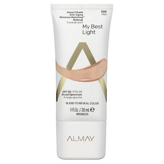 Almay Smart Shade Anti-Aging Skintone Matching Makeup - Light