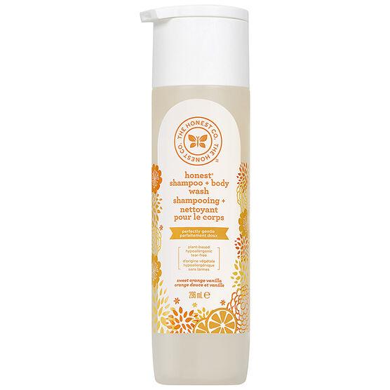 The Honest Company Honest Shampoo and Body Wash - Sweet Orange Vanilla - 250ml