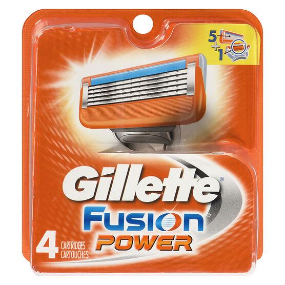 Gillette Fusion Power Blades - 4's