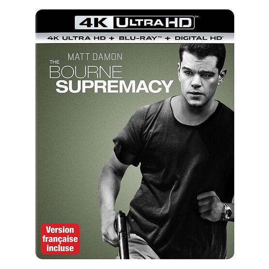 The Bourne Supremacy - 4K UHD Blu-ray