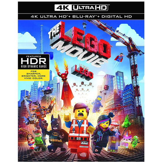 The LEGO Movie - 4K UHD Blu-ray