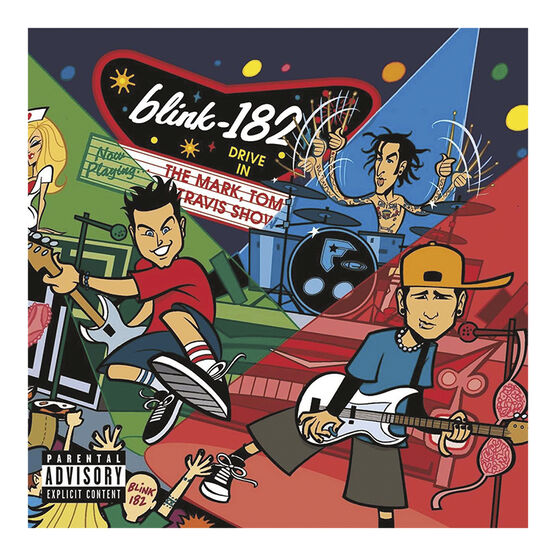 Blink 182 - The Mark, Tom and Travis Show (The Enema Strikes Back) - Vinyl