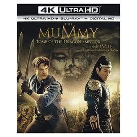 The Mummy: Tomb of the Dragon Emperor - 4K UHD Blu-ray