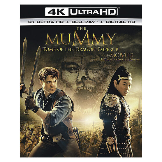 The Mummy: Tomb of the Dragon Emperor - 4K UHD Blu-ray
