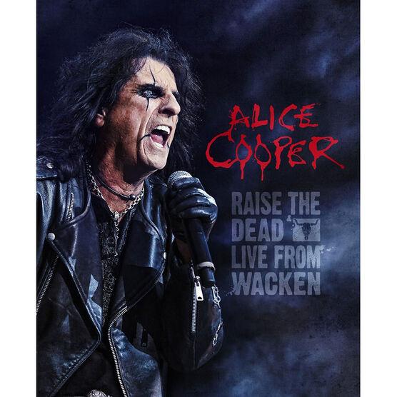 Alice Cooper - Raise the Dead: Live - Blu-ray + 2 CD