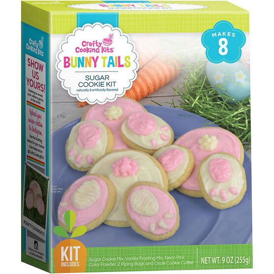 Bunny Tails Sugar Cookie Kit - 255g