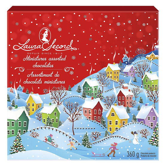 Laura Secord Miniatures Tin - Assorted - 360g