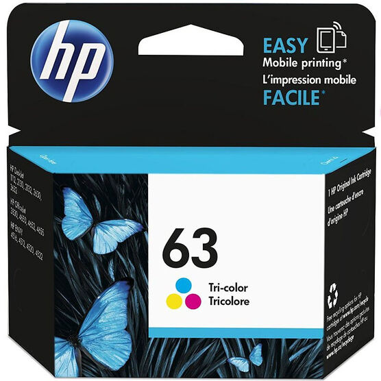 HP 63 Ink Cartridge - Tri Colour - F6U61AN#140