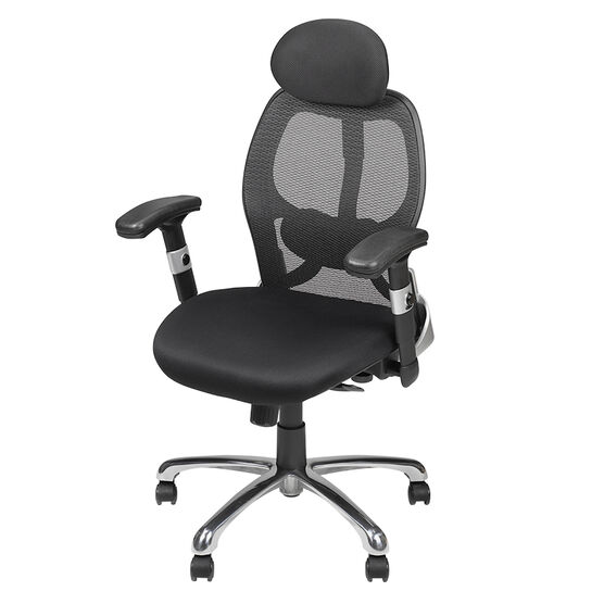 London Drugs Mesh Deluxe Office Chair - Black