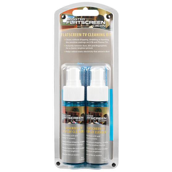 Monster Screenclean - 2 bottles - Blue - FSCLNKITSM2
