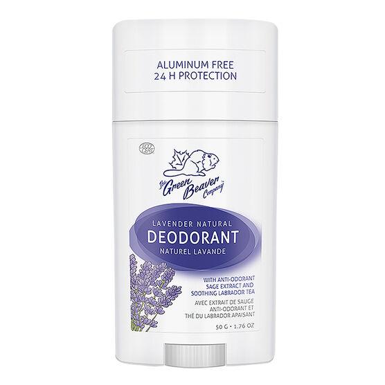 Green Beaver Natural Deodorant - Lavender - 50g
