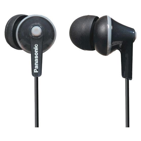 Panasonic Ergo Fit Ear Buds - Black - RPHJE125K