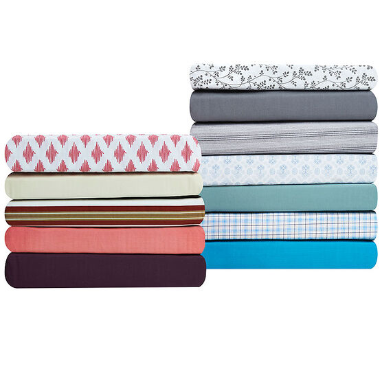 Martex 200 Thread Count Fitted Sheet - Assorted