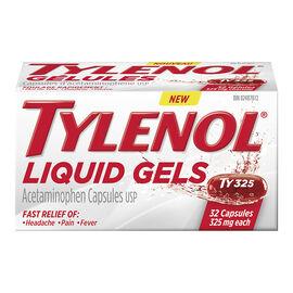 Tylenol* Liquid Gels - 325mg - 32's