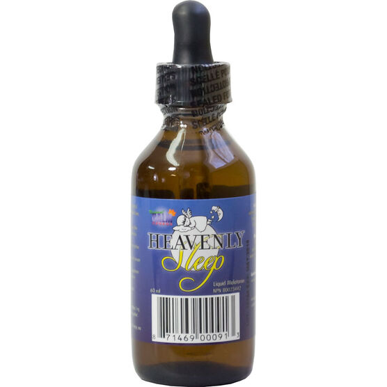 Natural Calm Heavenly Sleep Liquid Melatonin - 60ml