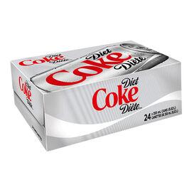 Coke - Diet - 24 x 355ml Cans