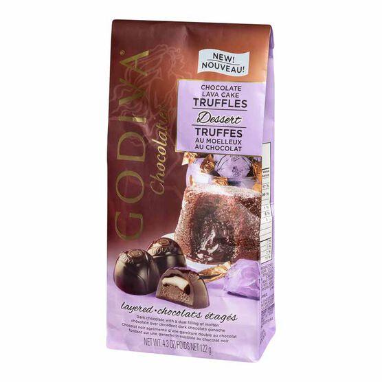 Godiva Dessert Truffles - Lava Cake - 122g