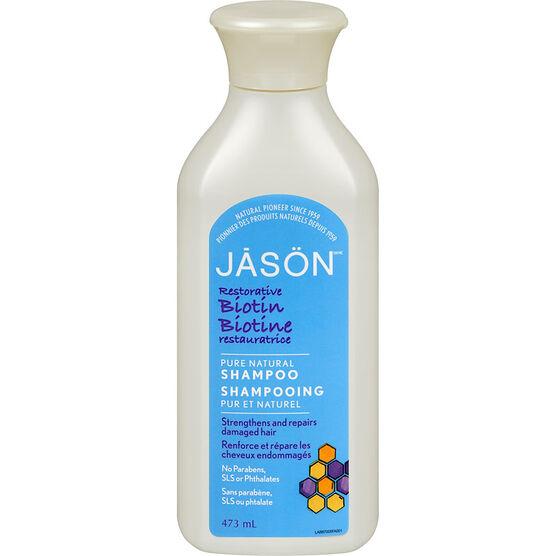 Jason Natural Biotin Shampoo - 473ml