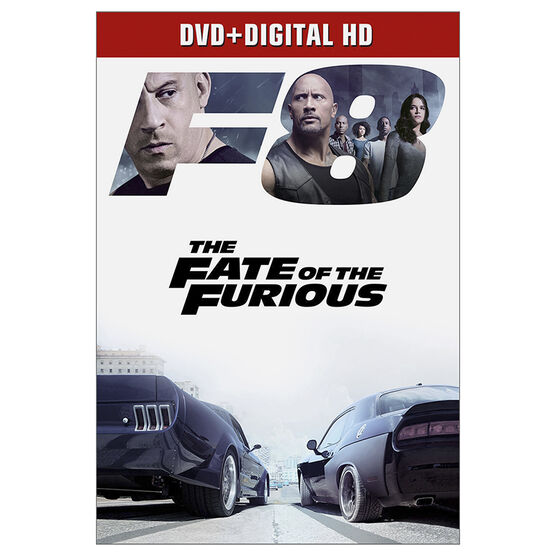 The Fate of the Furious - DVD