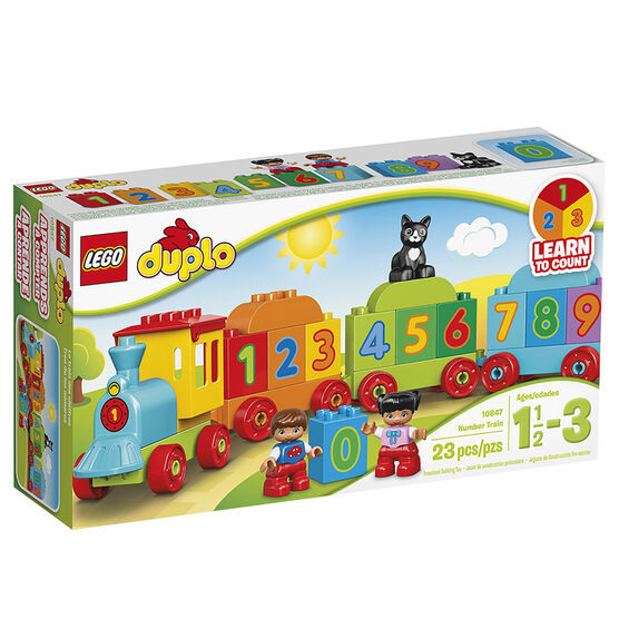 Lego Duplo Numbered Train - 10847
