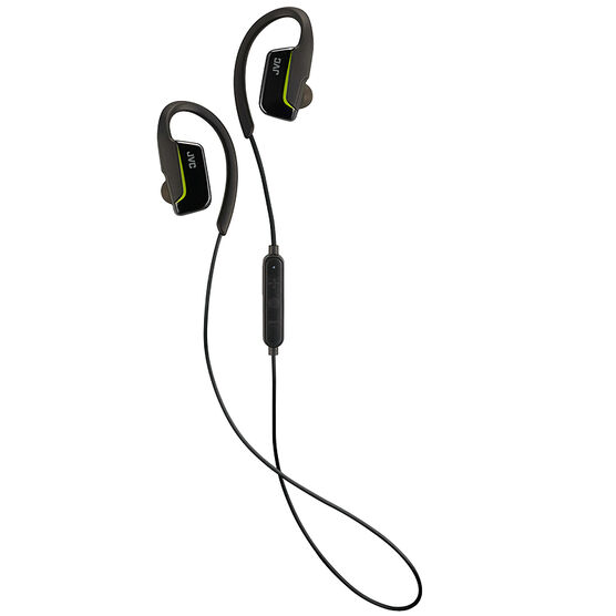 JVC Sport Wireless Earbuds - Black - HAEC30BTB