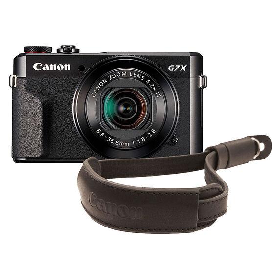 Canon PowerShot G7 X Mark II with G Series Wrist Strap - PKG #56016