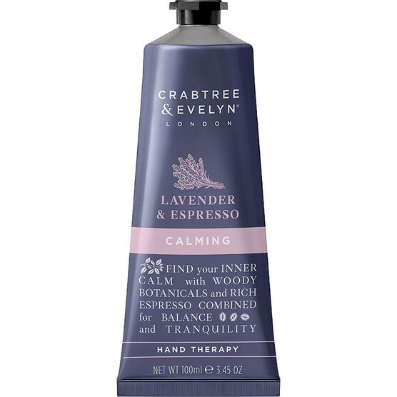Crabtree & Evelyn Lavender & Espresso Calming Hand Therapy - 100g