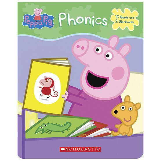 Peppa Pig Phonics Boxed Set