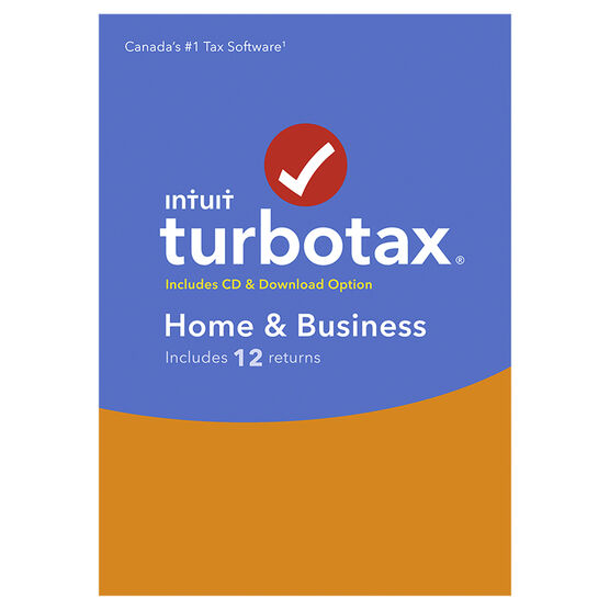 PRE ORDER: Intuit TurboTax Home and Business 2017 - 12 Returns
