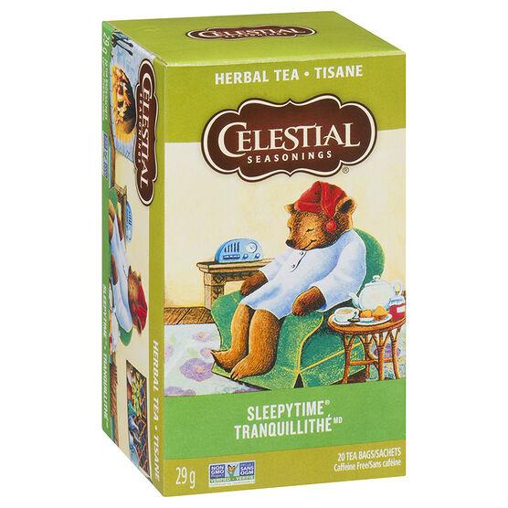 Celestial Seasonings Sleepytime Herb Tea - 20's